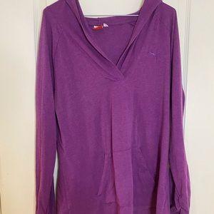 Puma Purple Long Sleeve Shirt